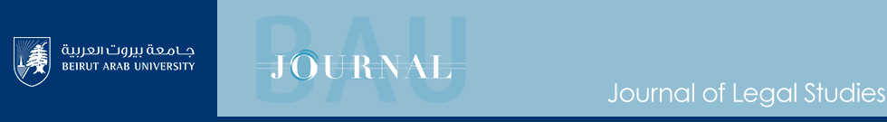 BAU Journal - Journal of Legal Studies
