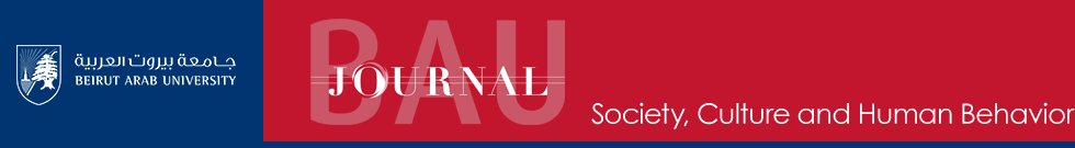BAU Journal - Society, Culture and Human Behavior