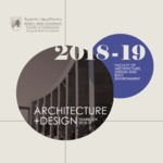 BEIRUT ARAB UNIVERSITY, FACULTY OF ARCHITECTURE DESIGN & BUILT ENVIRONMENT, YEAR BOOK 2018 - 2019